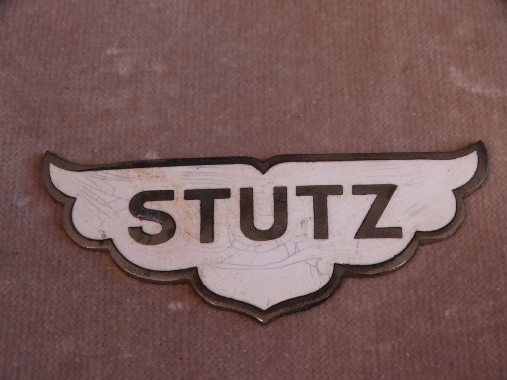 Stutz 1928 Radiator Badge A2455