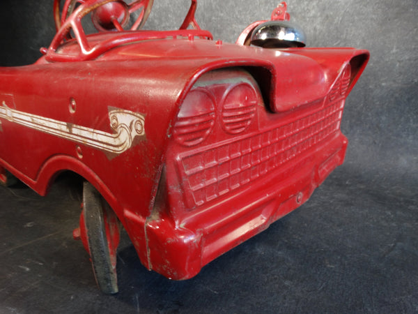 Murray Fire Truck Pedal Car circa 1959A2505