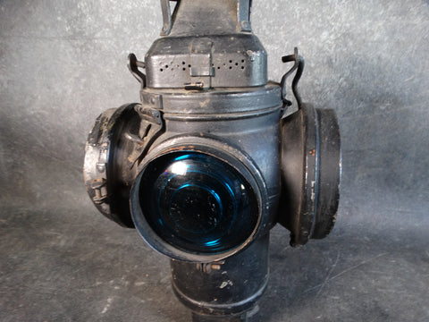 Adlake Quadruple Lens Non-Sweating Kerosene Railway Lamp A2511