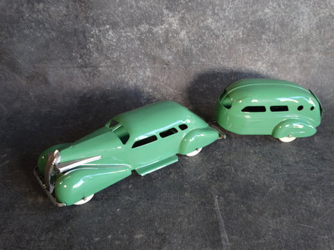 Wyandotte Lasalle Toy Car and Camper Set - A2534