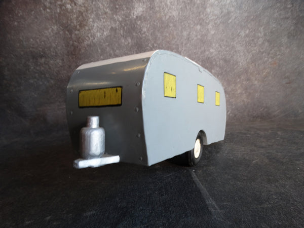 Vintage Folk Art Model of a Canteen Trailer circa 1950s A2535