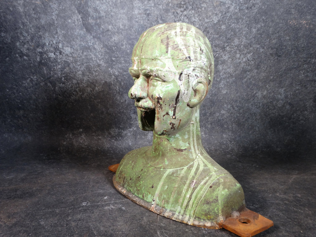 A Bust in Cast Iron: Mold-making Form  A2551