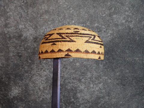 Hupa Woven Hat c 1920s A2553