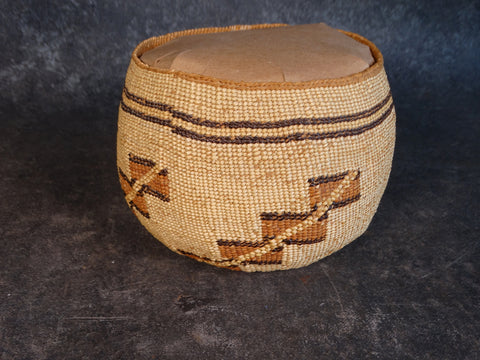 Northern California Yokuts Basket 1930s A2578