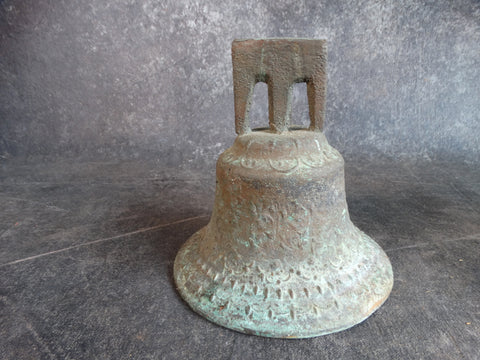 Large Spanish Bronze Bell  c 1920 A2580