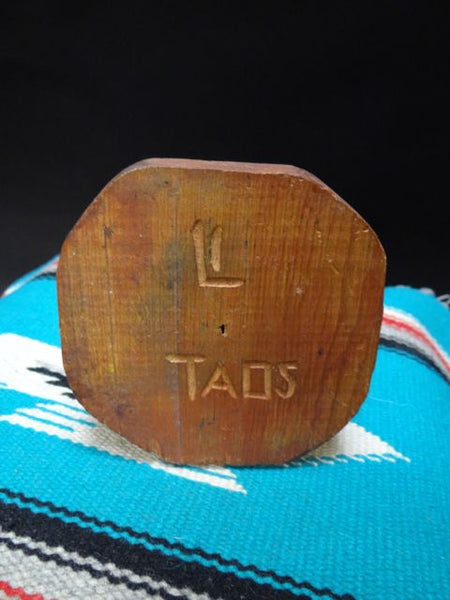 Taos Hand Carved Candle Stick