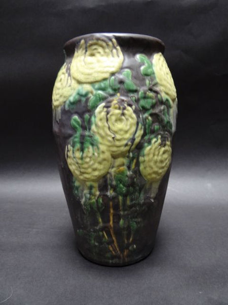 European Arts & Crafts Matte Glaze Vase