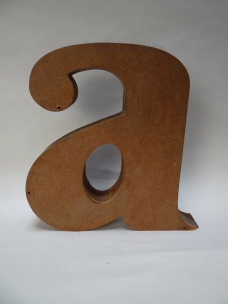 Sand Casting Mold for a Lower Case Letter A