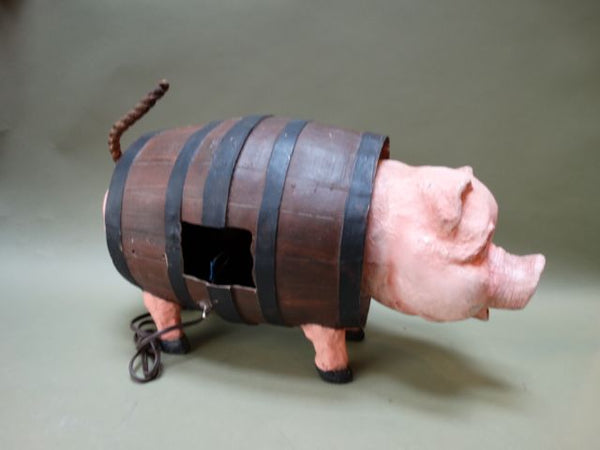 Shooting Gallery Target Pig In A Barrel Automaton