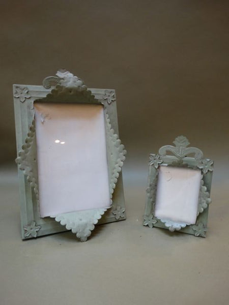 Pair of Mexican Tin Frames