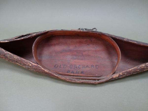 "Bark Canoe ""Old Orchard Park"""