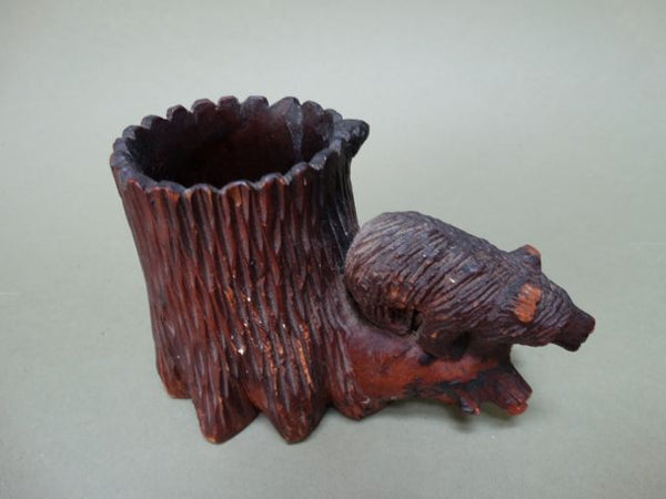 California Redwood Bear Planter