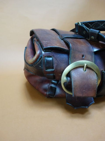 1960-70s Leather Gladstone Bag