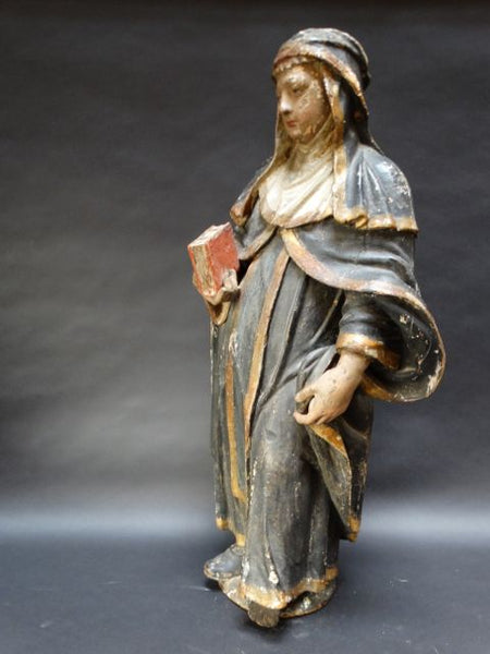16th Century Italian Saint Sculpture