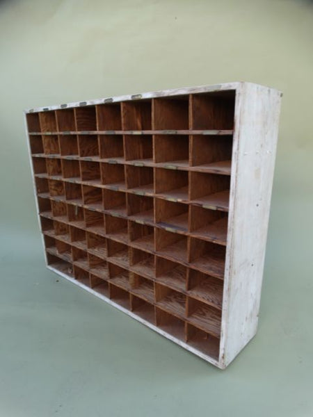 Vintage Hotel Mail Sorter/Cubby/ Possible Wine Cubby