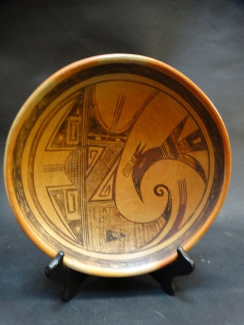 Lucy Tsie (active 1930s) Hopi Bowl