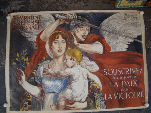 "War Poster ""French Victory"" WWI"