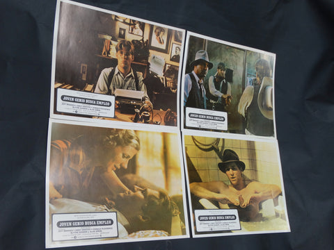 HEARTS OF THE WEST 1975 (Joven Genio Busca Empleo) Lobby Cards set of 4