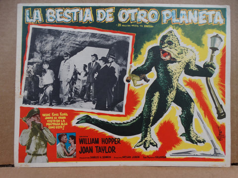 20 MILLION MILES TO EARTH (La Bestia de otro Planeta) Lobby Card 1957
