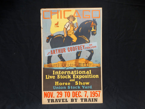 Chicago International Live Stock Exposition and Horse Show Poster