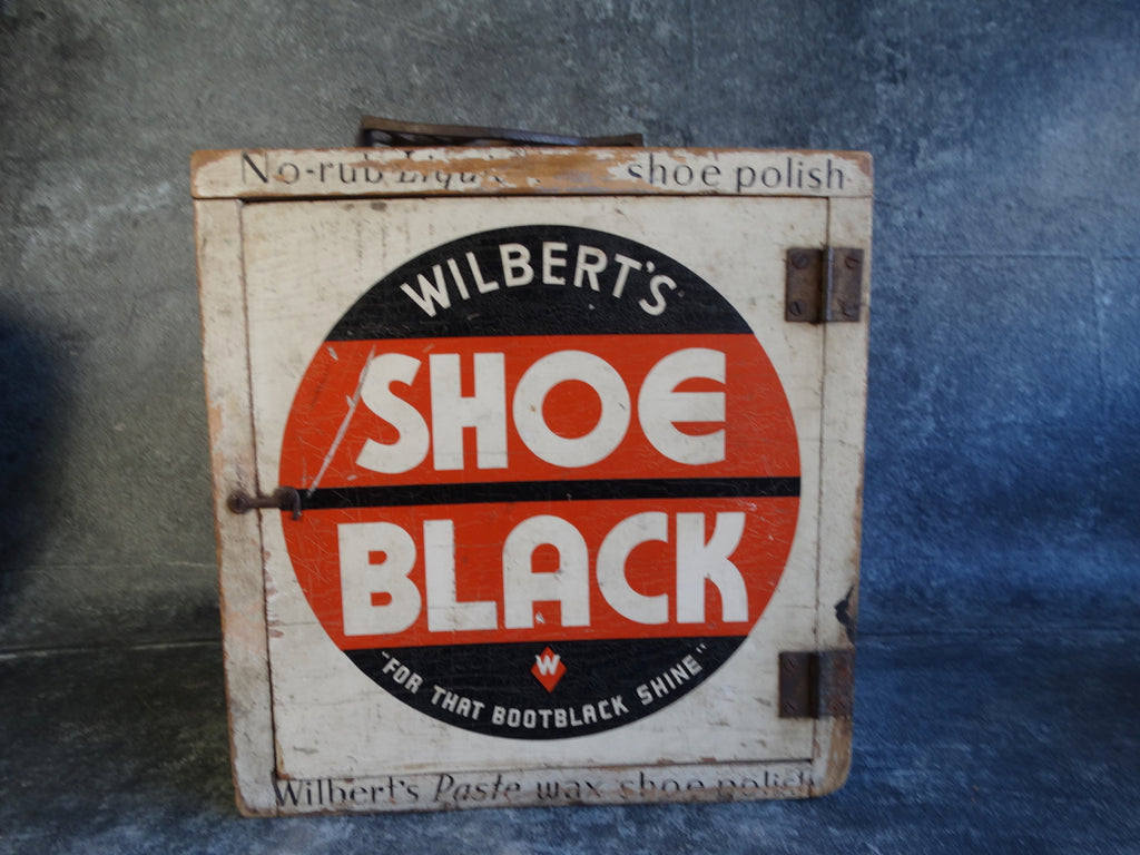 Wilbert's Shoe Black Shoe Shine Box AP1228