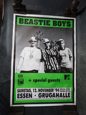 Original Beastie Boys German Tour Poster AP1230