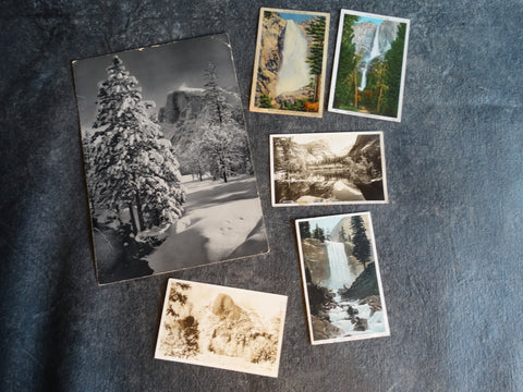 Yosemite Ephemera Collection c 1949 AP1274
