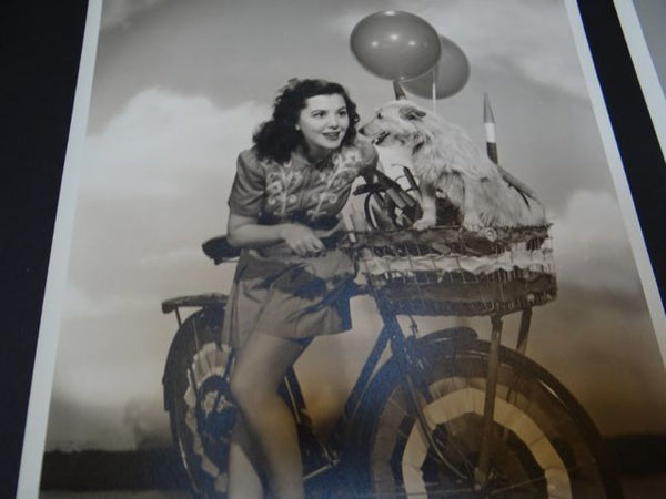 The Ann Rutherford Files: Ann on Bikes