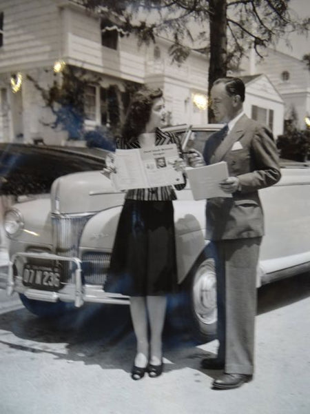 The Ann Rutherford Files: In The End, Ann Chooses A 1941 Ford Super Deluxe Convertible