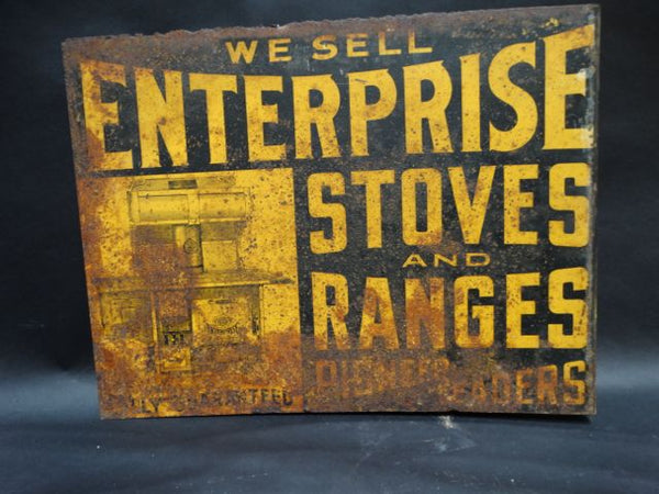 Enterprise Stoves and Ranges Sign