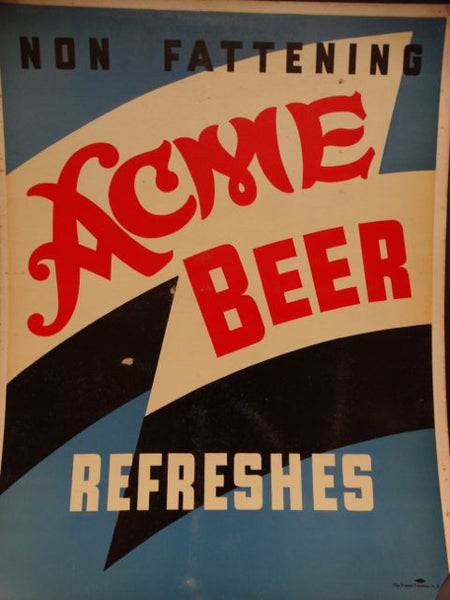 Acme Beer Poster 1935