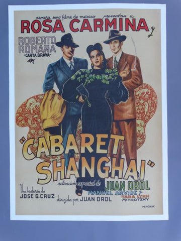 Cabaret Shanghai Mexican Movie Poster 1950