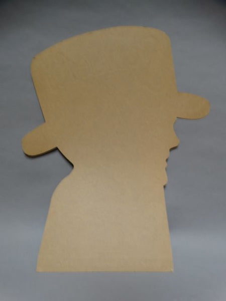 Schaefer Hat Works of Los Angeles Advertising Cutout