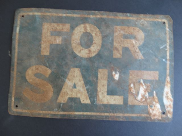 """For Sale"" Sign"