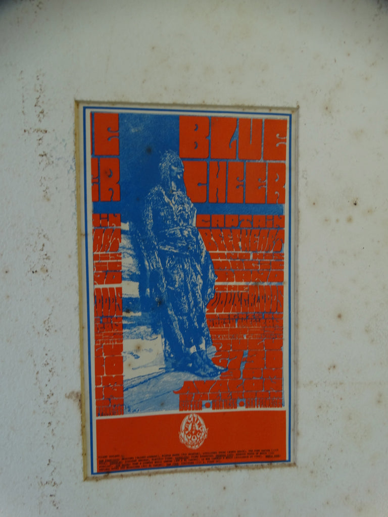 Classic 60s Rock Event Postcard: Blue Cheer, Captain Beefheart