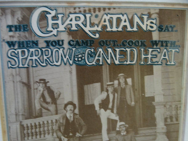 Classic Rock Postcard: Charlatans, Sparrow and Canned Heat at Avalon Ballroom