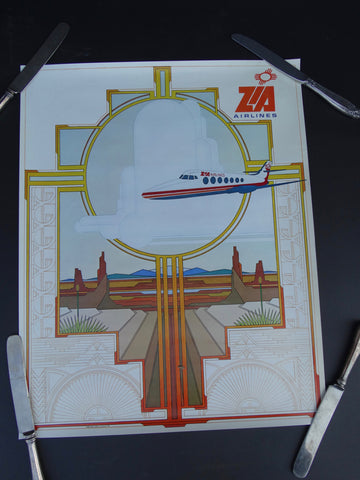 Zia Airlines Poster AP711
