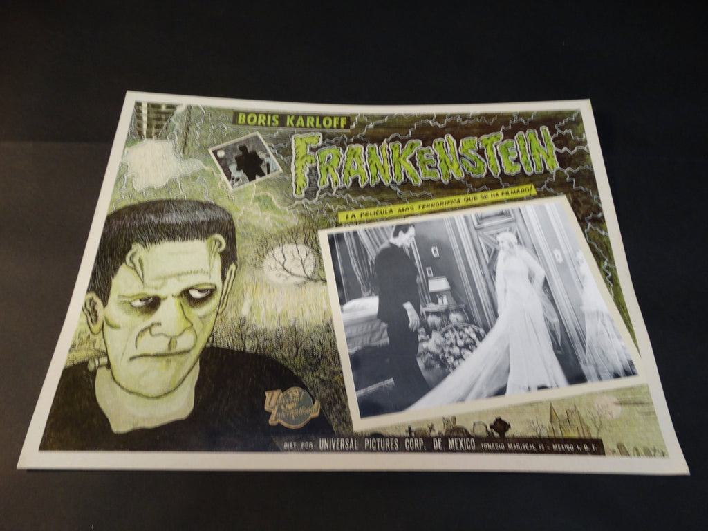 Frankenstein 1931 lobby card 1971 re-release