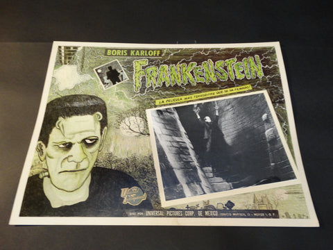 """Frankenstein"" lobby card"