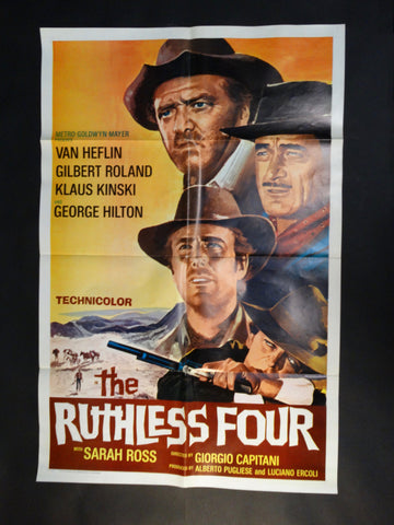 """The Ruthless Four"" one sheet"