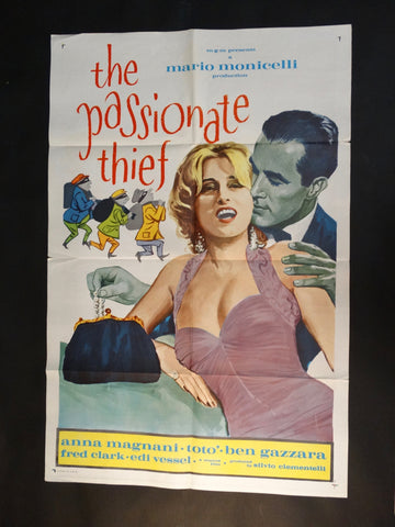 """The Passionate Thief"" one sheet RARE"
