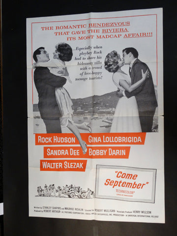 """Come September"" one sheet"