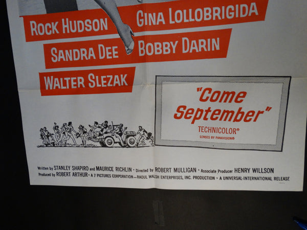 Come September one sheet