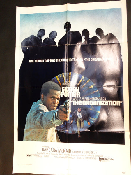THE ORGANIZATION 1971 one sheet