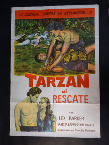 """Tarzan al Rascate"" one sheet"