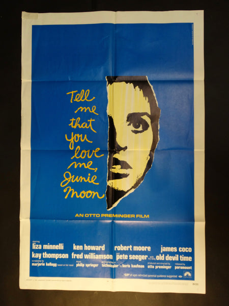 """Tell Me That You Love Me, Junie Moon"" one sheet"