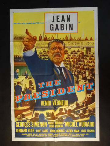 """The President"" vintage one-sheet"