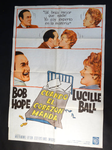 "Vintage ""Critic's Choice"" Spanish language poster"