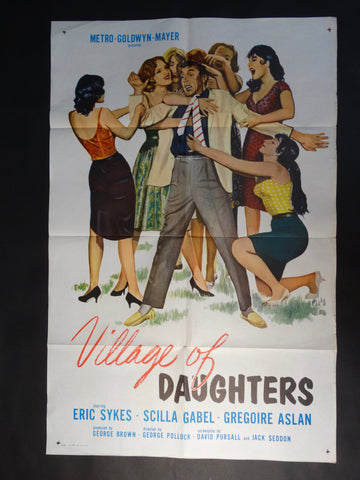 "Vintage ""Village of Daughters"" one-sheet"