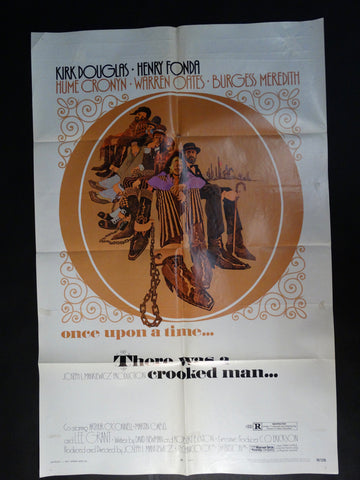 """There Was a Crooked Man"" vintage one-sheet"